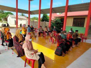 Sosialisasi dan edukasi di Dusun 01 Kep. Srikayangan.